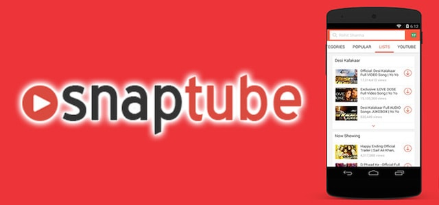 Download Snaptube Apk App Store for Android